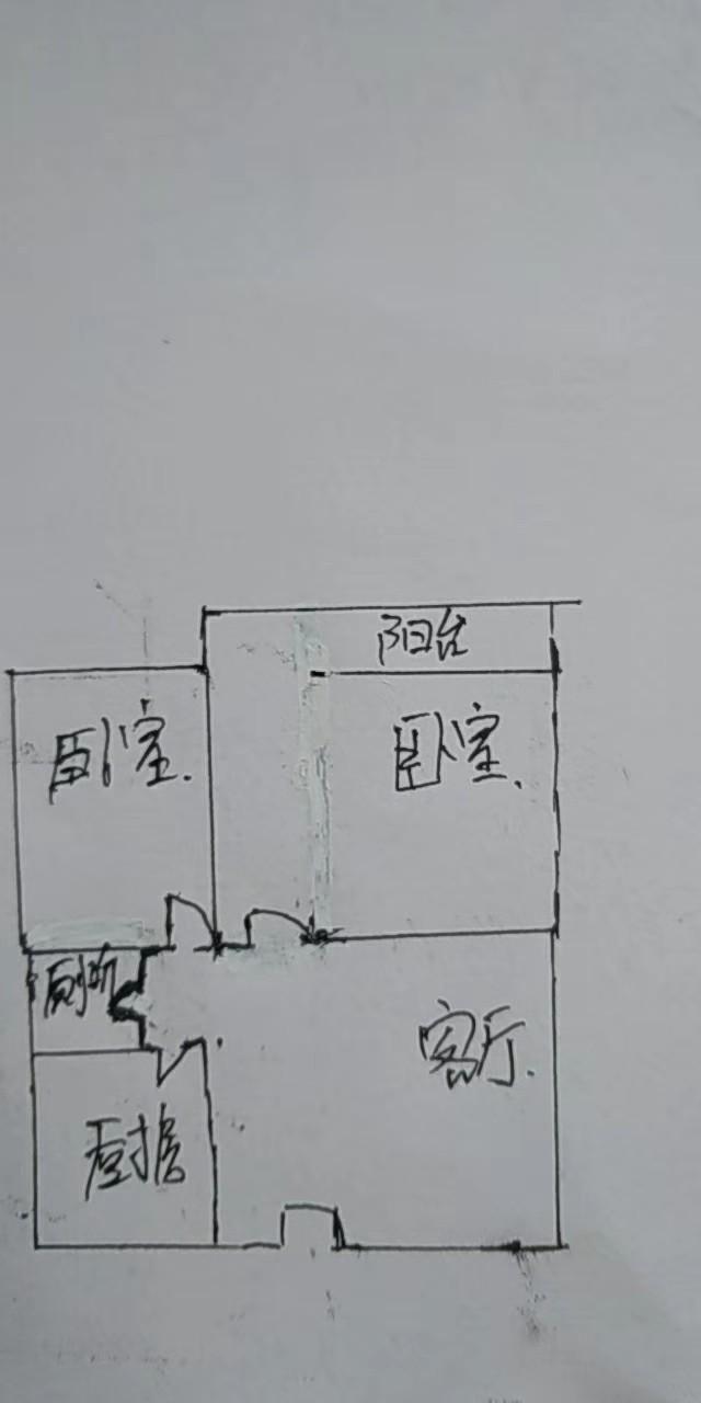 北园小区 2室1厅  简装 53万