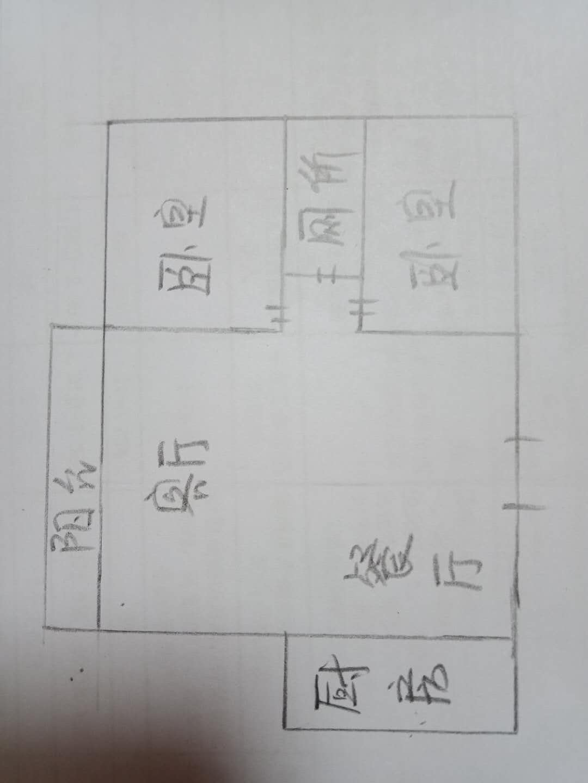 万豪华庭公馆 2室2厅 5楼