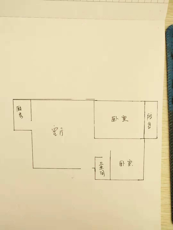 公安局宿舍 2室1厅  简装 130万