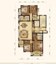绿城百合家园 3室2厅 8楼