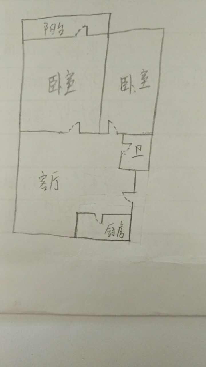 长河小区 2室1厅  简装 65万