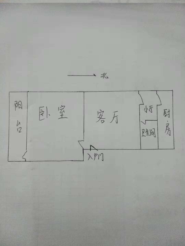 棉麻宿舍 2室1厅  精装 56万