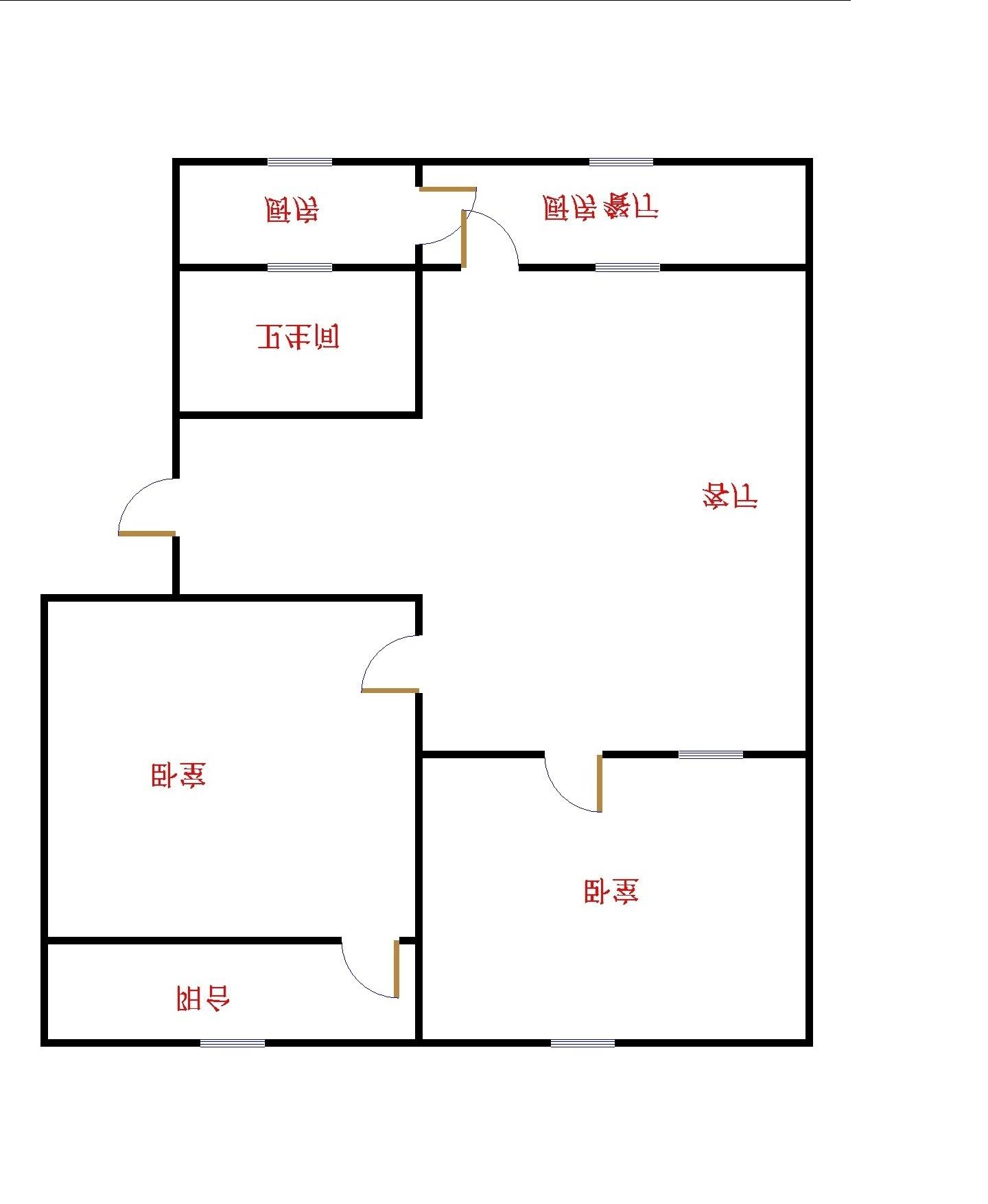 水利局宿舍 2室2厅 2楼