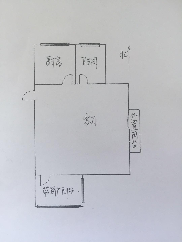 帝景苑小区 1室1厅 6楼