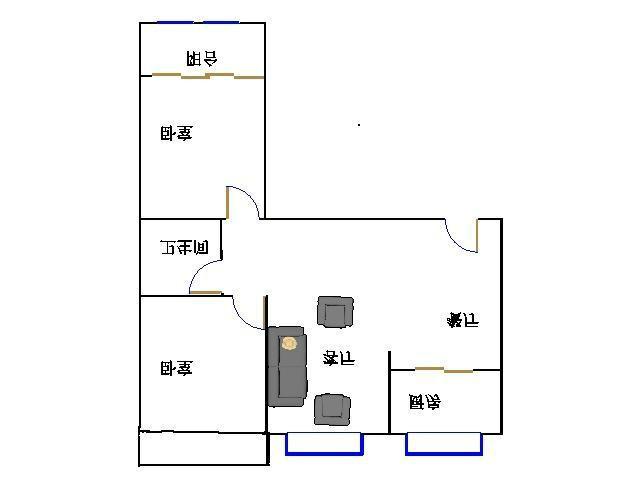 泰和名仕港 2室2厅 13楼