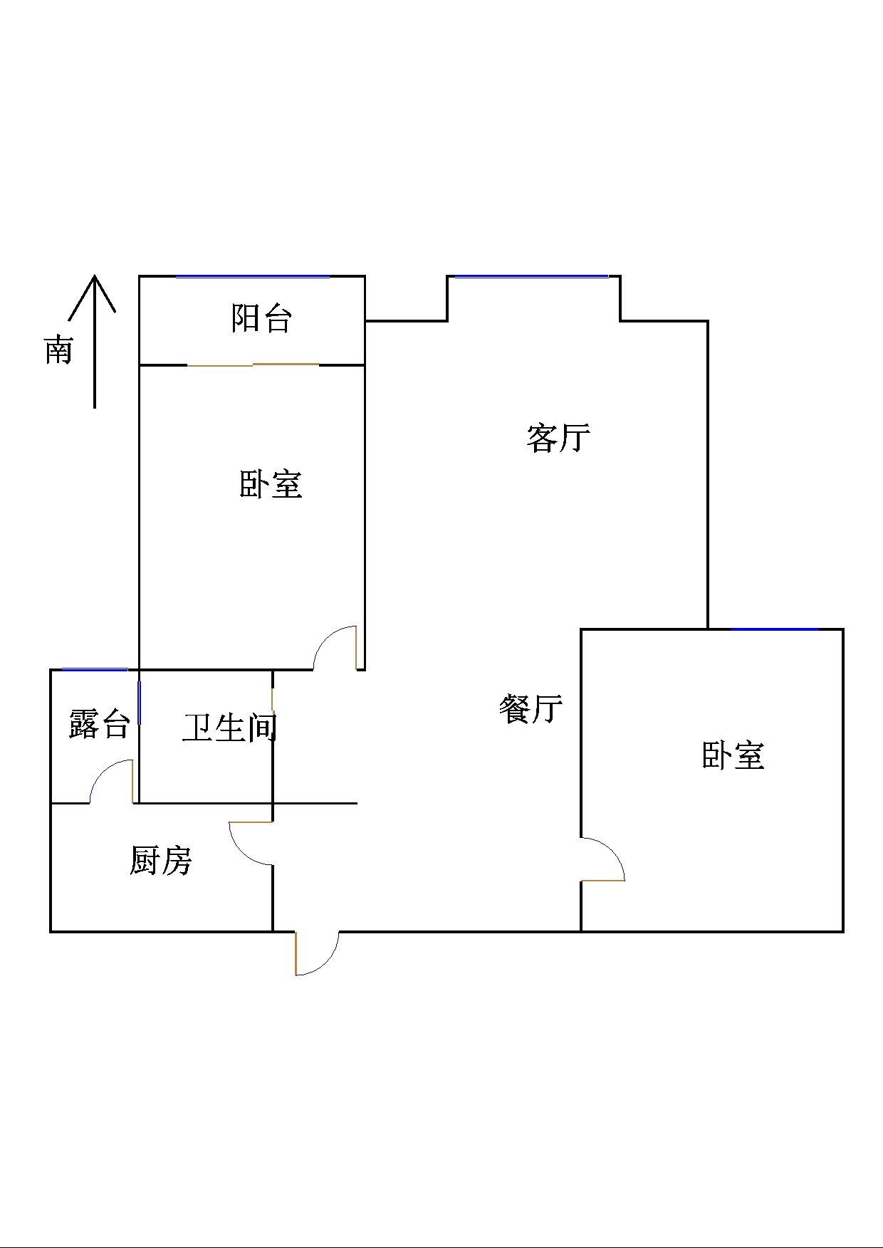 金鼎公馆 3室2厅 3楼