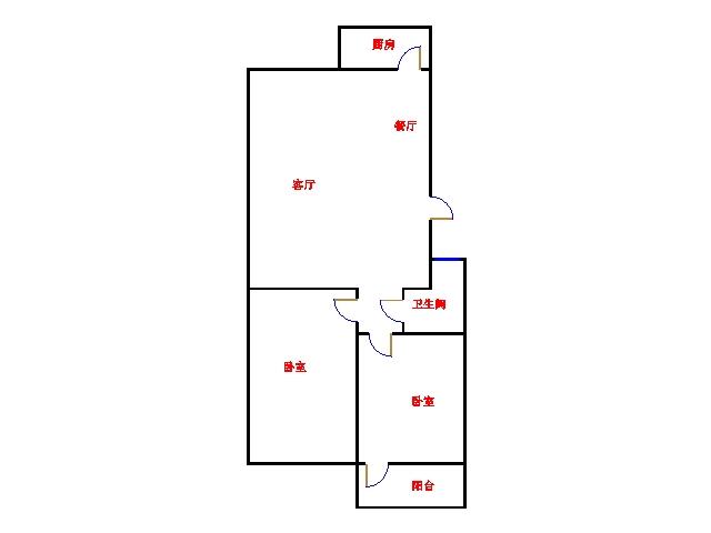 北苑新邸 2室2厅 双证齐全 简装 103万