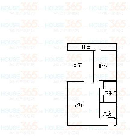 陈公庄园 2室2厅  简装 32万
