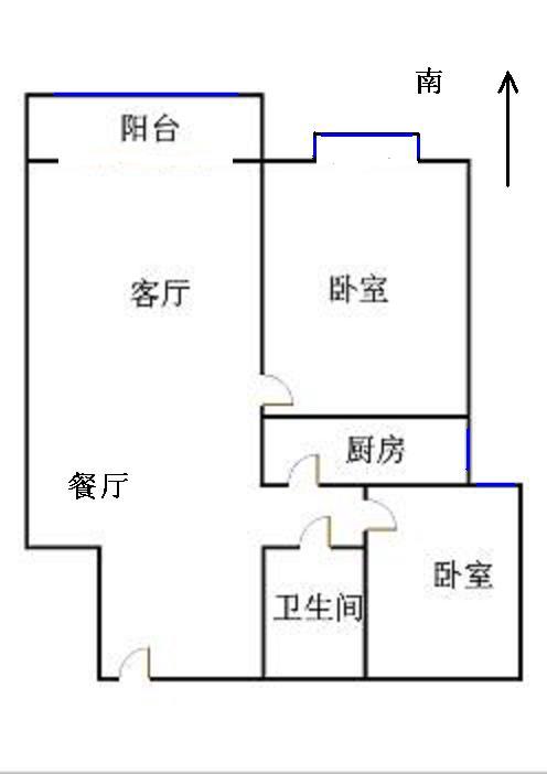 泰和名仕港 2室2厅 4楼