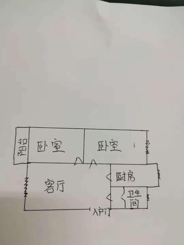 邹李小区 2室2厅  简装 65万