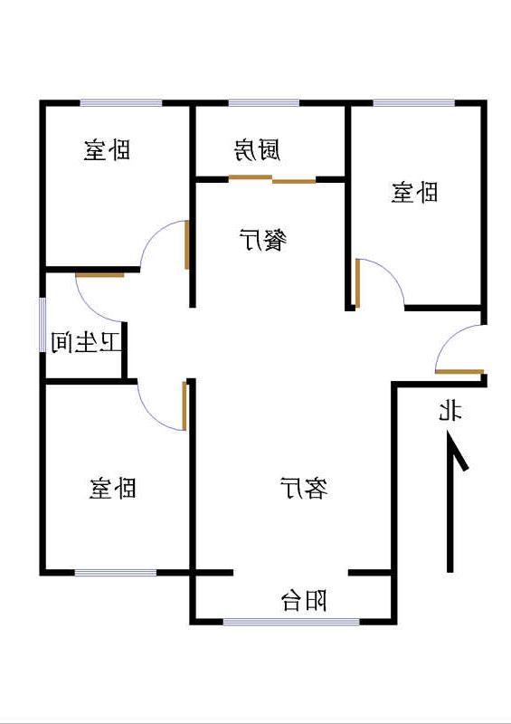 金鼎公馆 3室2厅 双证齐全 精装 130万