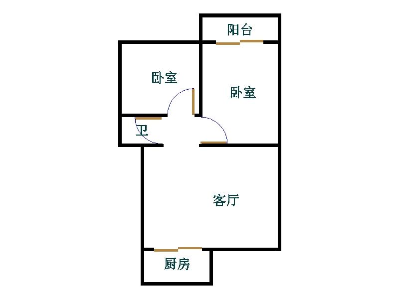 东长庄园 2室2厅  精装 35万