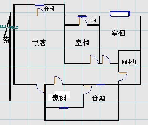 嘉诚尚东 2室2厅  精装 96万