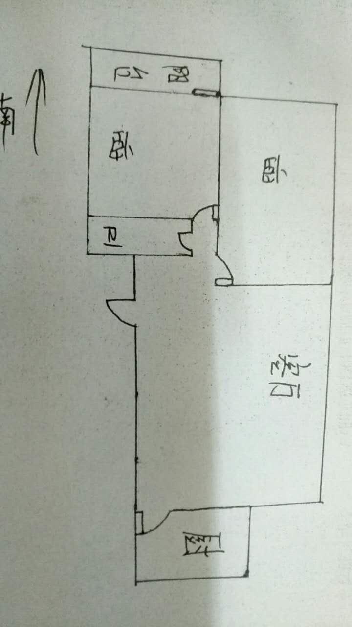 北苑新邸 2室1厅 2楼