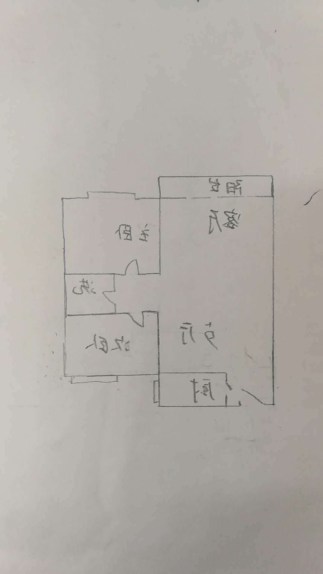 明城雅居 2室2厅  简装 97万