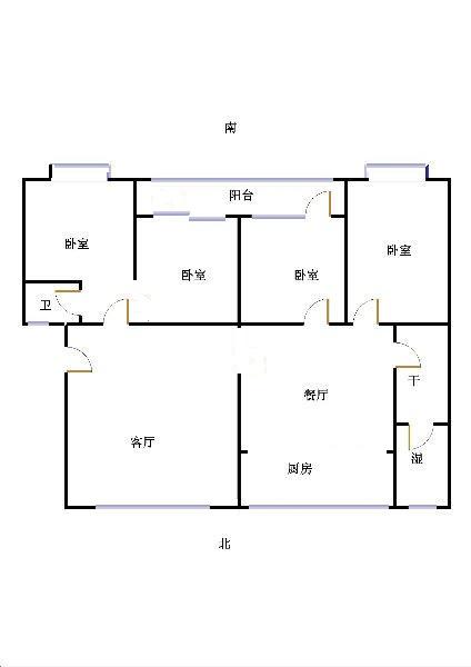 二棉宿舍 4室2厅 过五年 精装 235万