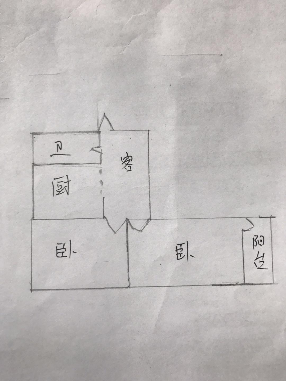 天衢小区 2室1厅 2楼