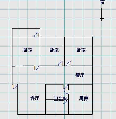 赵辛庄 3室2厅 6楼