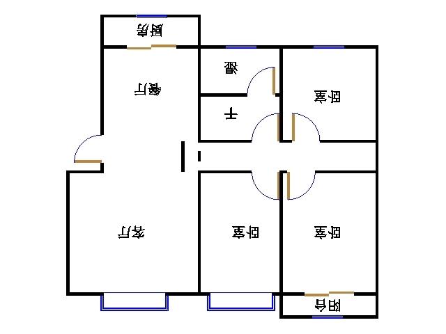 嘉诚尚东 3室2厅  精装 185万