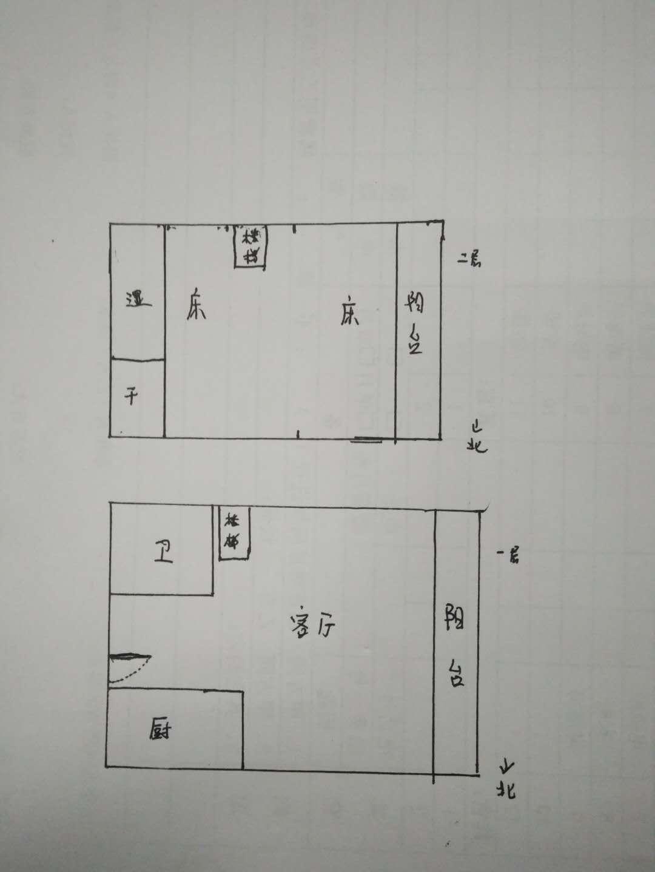 唐人D区(公寓)LOFT 1室1厅 7楼