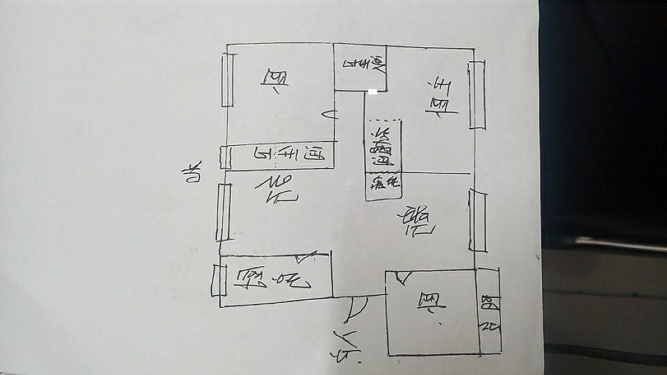 绿城百合家园 3室2厅  精装 183万