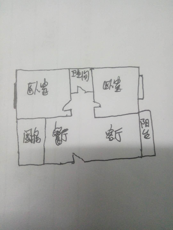 万象城 2室2厅  毛坯 58万