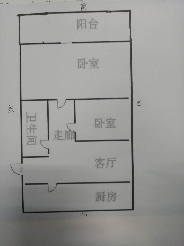 凯旋花园 2室1厅 17楼