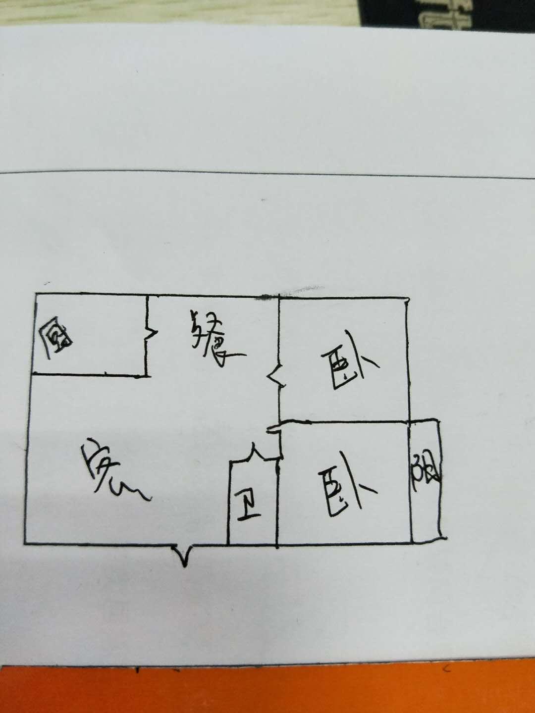 岔河紫薇园 2室1厅 3楼