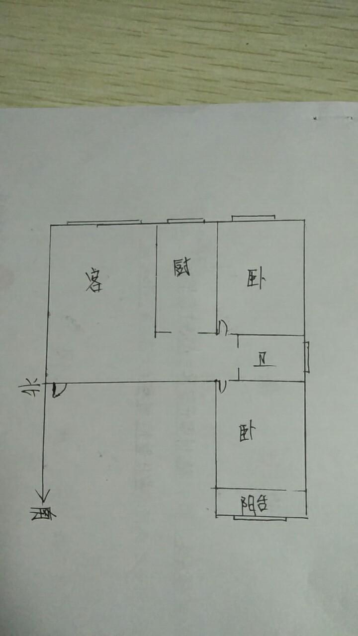 万豪华庭公馆 2室2厅 12楼