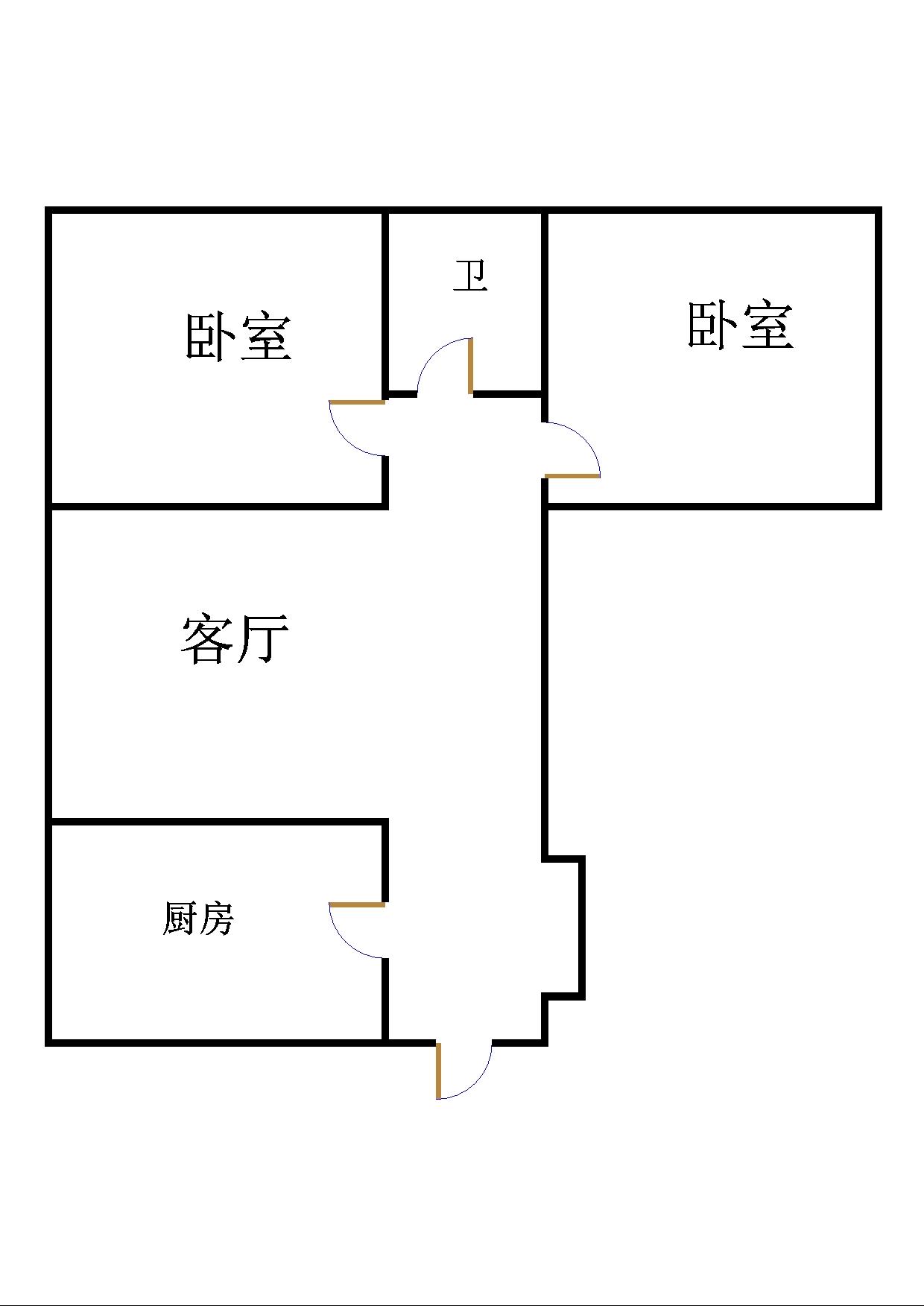 嘉城盛世 2室2厅 18楼