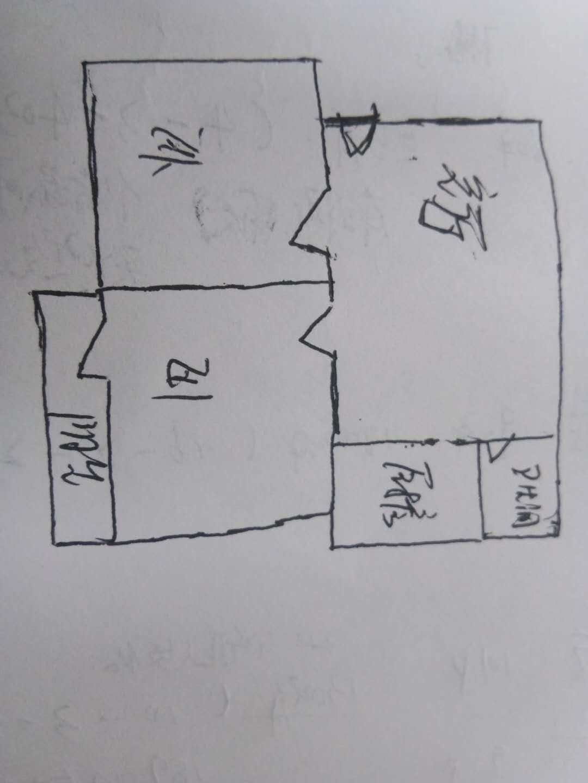 迎春巷 2室2厅 3楼