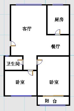 金光集团宿舍 2室1厅 5楼