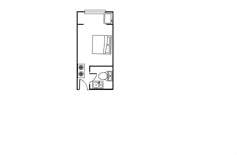 德百物流城 1室1厅 17楼