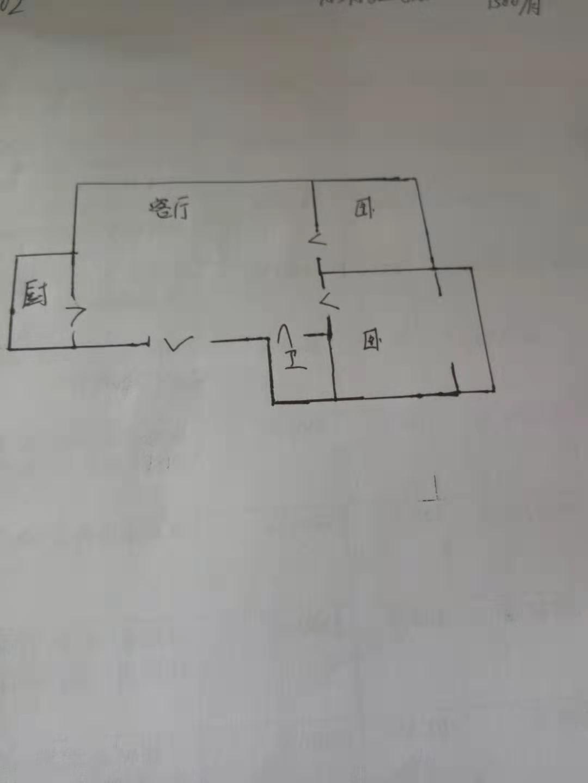 南源港湾 2室1厅  简装 68万
