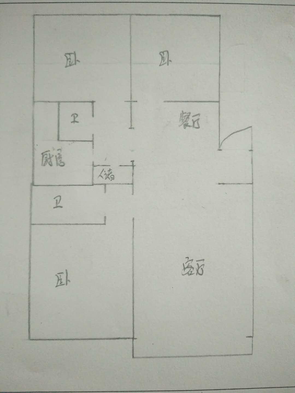 五环庄园 3室2厅 1楼