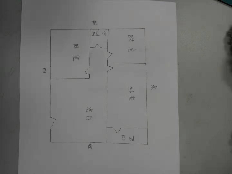 广川小区 2室1厅 1楼