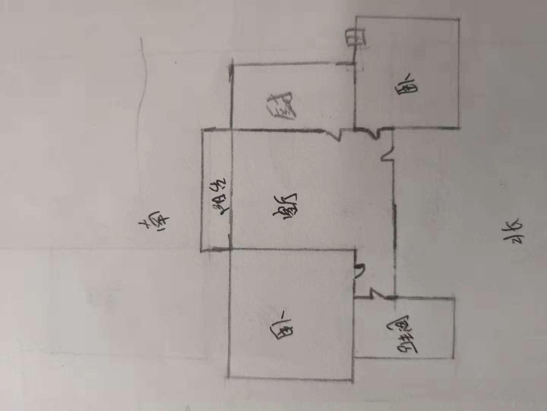 星河湾 2室1厅 3楼