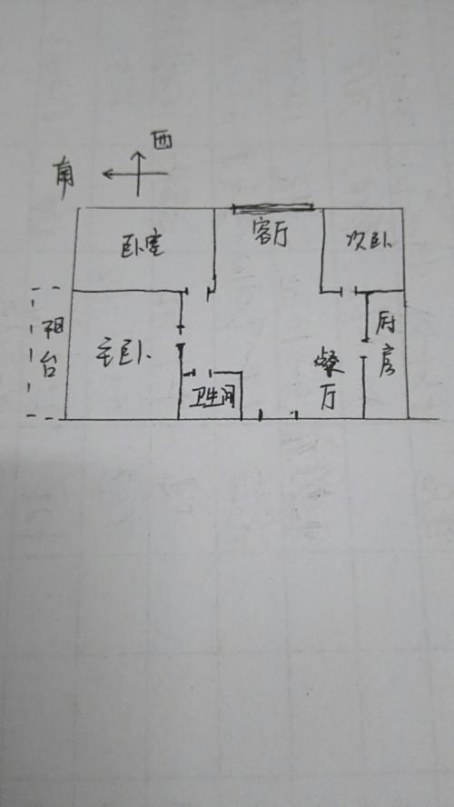 中建华府(欧香丽都) 3室2厅 4楼