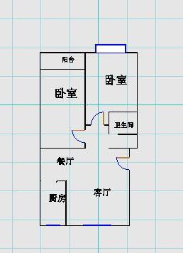 翠湖庄园 2室2厅 9楼