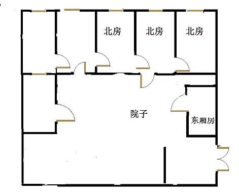 二塑宿舍 5室3厅  简装 210万