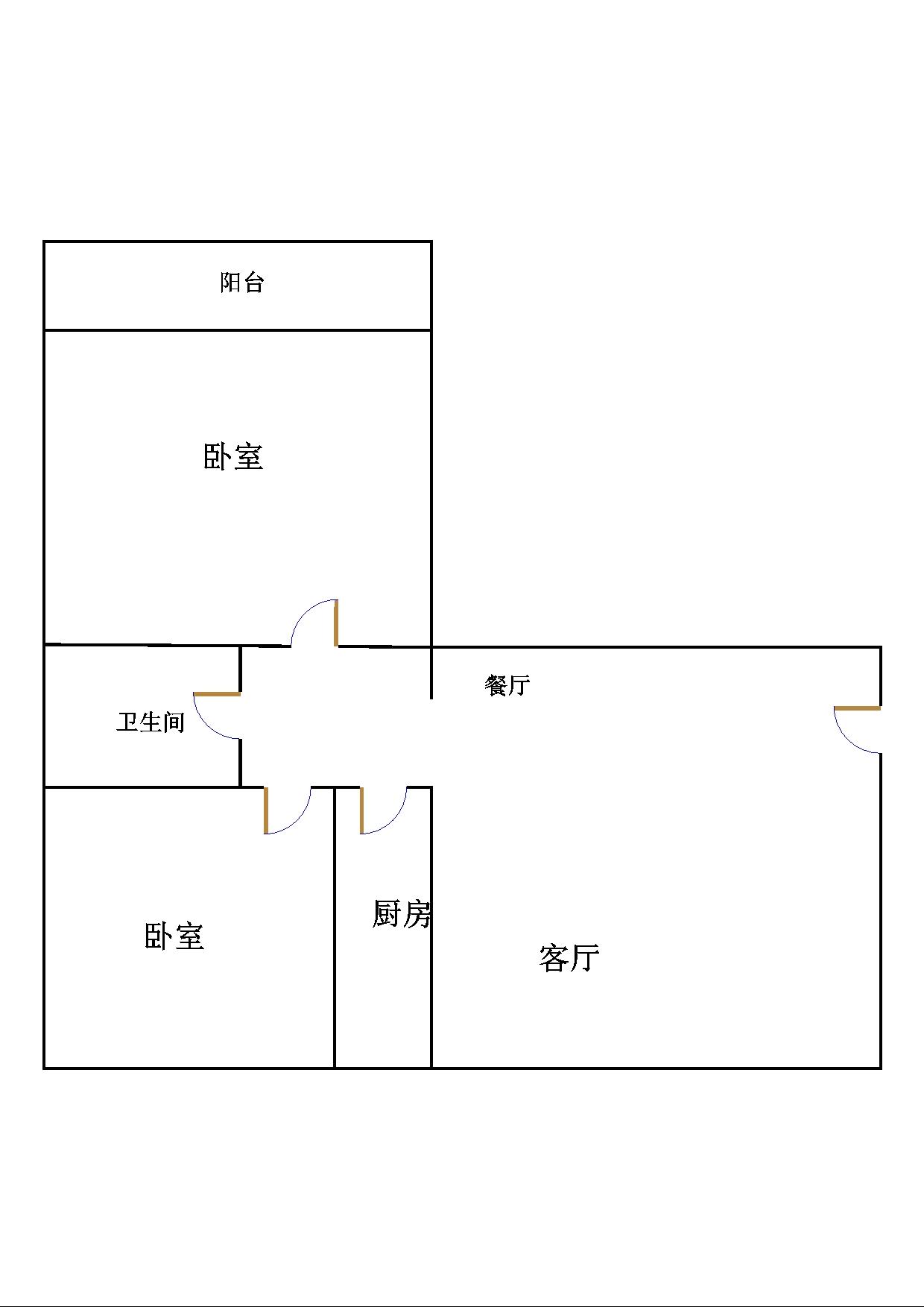 尚城国际 3室2厅 12楼