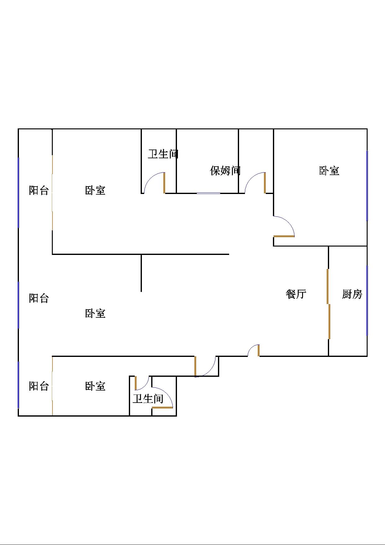 未来城 3室2厅  毛坯 241万