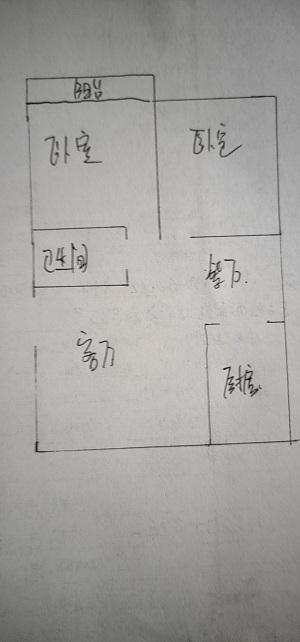 芙蓉丰顺苑 2室2厅 双证齐全 简装 75万