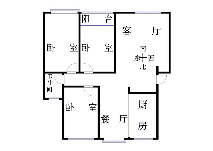 外海.江南水郡 3室2厅 4楼