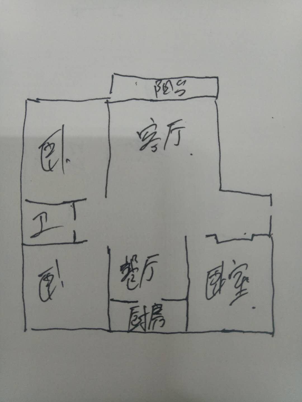 嘉城盛世 3室2厅 双证齐全 简装 125万