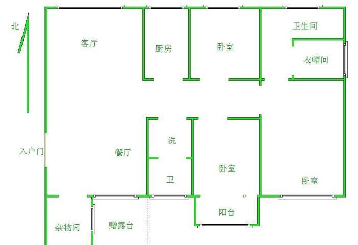 尚城国际 3室2厅 双证齐全 简装 145万