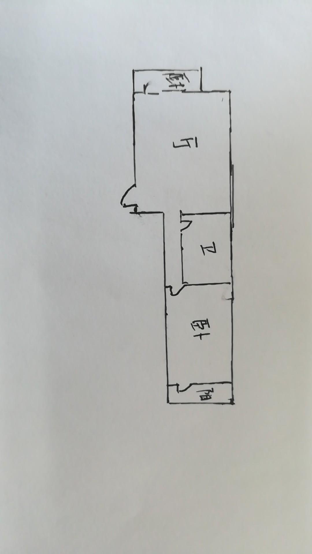 长河小区 1室1厅 4楼