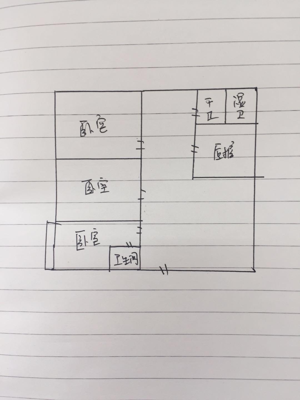 盛世华园 3室1厅 4楼