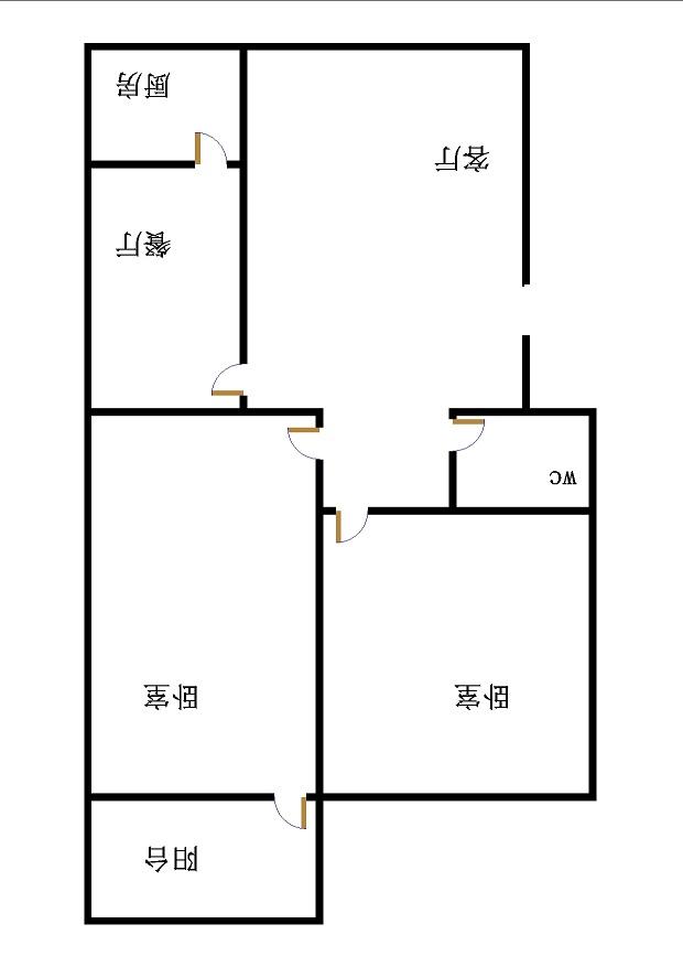 福东小区 2室2厅 双证齐全 简装 103万