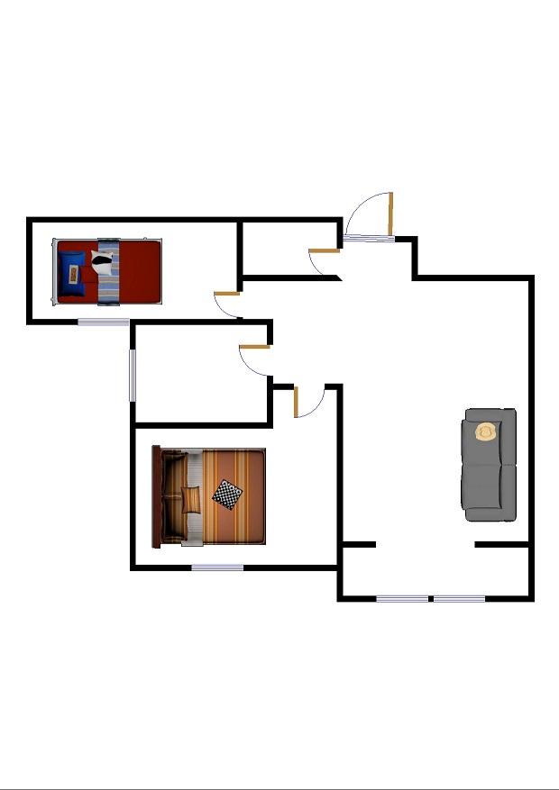 新湖家园 2室2厅  精装 130万